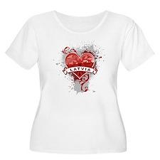Heart Latvia T-Shirt