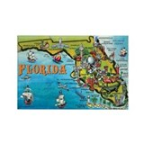 Florida Rectangular Magnet
