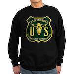 US Cattle Service Sweatshirt (dark)