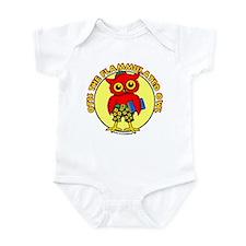 Otis the Flammulated Owl Infant Bodysuit