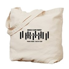 Linda Rohmund Piano Studio Tote Bag