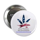 "2.25"" Button - Grow Freedom, Not Government"