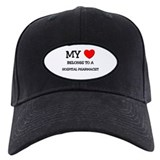 My Heart Belongs To A HOSPITAL PHARMACIST Baseball Hat