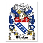 Whelan Coat of Arms Small Poster