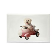 Cute Rocket man Rectangle Magnet (100 pack)