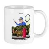 funny dog catcher gift produc Mug