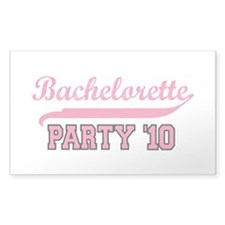 Bachelorette Party '10 Rectangle Decal