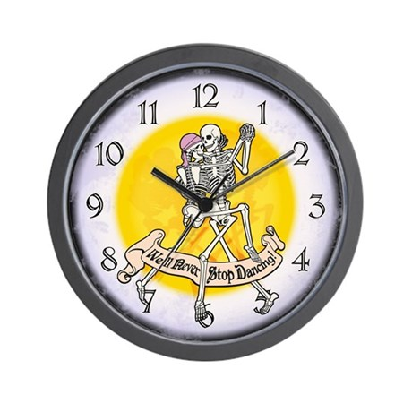 Never Stop Dancing Wall Clock
