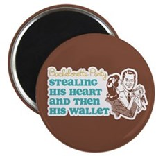 "Stealing Heart and Wallet 2.25"" Magnet (10 pack)"