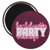 Bachelorette Entourage 2.25&quot; Magnet (10 pack)