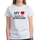My Heart Belongs To A GONDOLIER Tee