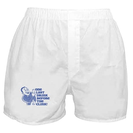 Drink Before Clink Boxer Shorts