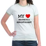 My Heart Belongs To A GERONTOLOGIST T