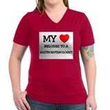 My Heart Belongs To A GASTROENTEROLOGIST Shirt