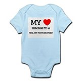 My Heart Belongs To A FINE ART PHOTOGRAPHER Onesie