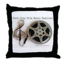 Funny Film festivals Throw Pillow