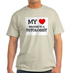 My Heart Belongs To A FETOLOGIST Light T-Shirt