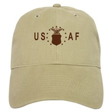 Air Force<BR> Khaki Baseball Cap