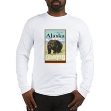 Travel Alaska Long Sleeve T-Shirt
