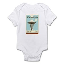 Travel Washington Infant Bodysuit