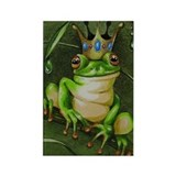 Frog Prince Three Rectangle Magnet
