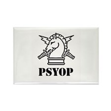 PSYOP Rectangle Magnet (100 pack)