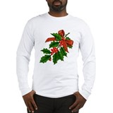 Holly Bow Long Sleeve T-Shirt