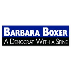 Barbara Boxer: A Democrat With a Spine