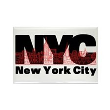 New York City Rectangle Magnet (100 pack)