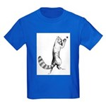 Springing Cat Kids Dark T-Shirt