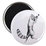 "Springing Cat 2.25"" Magnet (10 pack)"