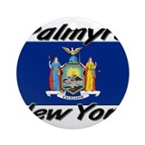 Palmyra New York Ornament (Round)