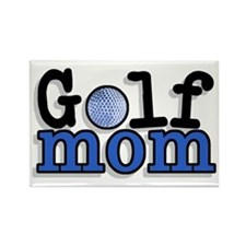 Golf Mom Rectangle Magnet