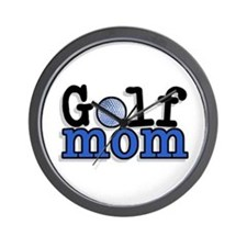 Golf Mom Wall Clock