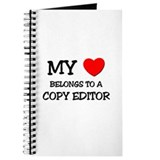My Heart Belongs To A COPY EDITOR Journal