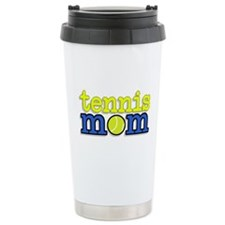 Tennis Mom Ceramic Travel Mug