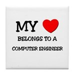 My Heart Belongs To A COMPUTER ENGINEER Tile Coast