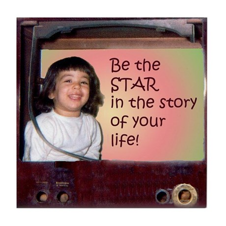 Be the Star Tile Coaster
