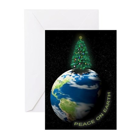 Peace On Earth Christmas Cards (10 w/envelopes)