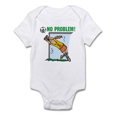 Girl Soccer Goalie Infant Bodysuit