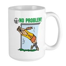 Girl Soccer Goalie Mug