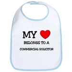 My Heart Belongs To A COMMERCIAL SOLICITOR Bib