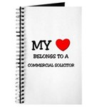 My Heart Belongs To A COMMERCIAL SOLICITOR Journal