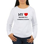 My Heart Belongs To A COMMERCIAL SOLICITOR Women's