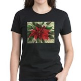 Unique Poinsettia Tee