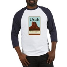 Travel Utah Baseball Jersey