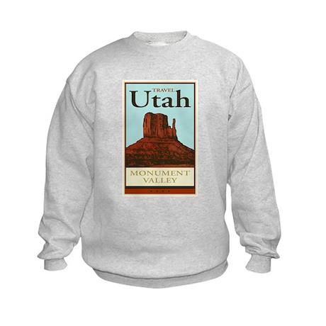 Travel Utah Kids Sweatshirt