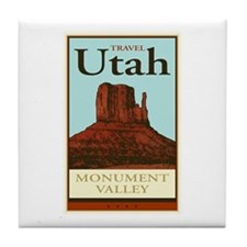 Travel Utah Tile Coaster