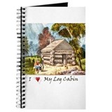 Mountain Log Cabin Color Journal