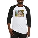 Mountain Log Cabin Color Baseball Jersey